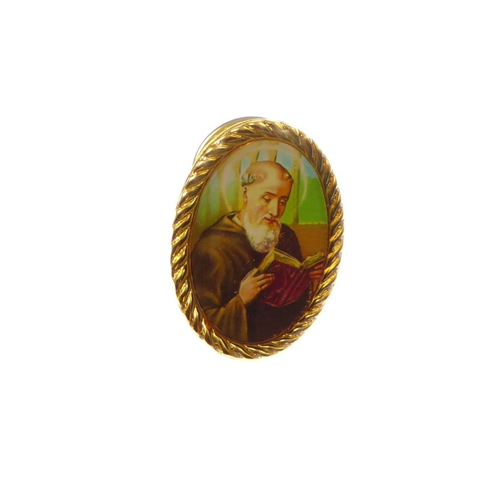 Saint Benedict catholic pin