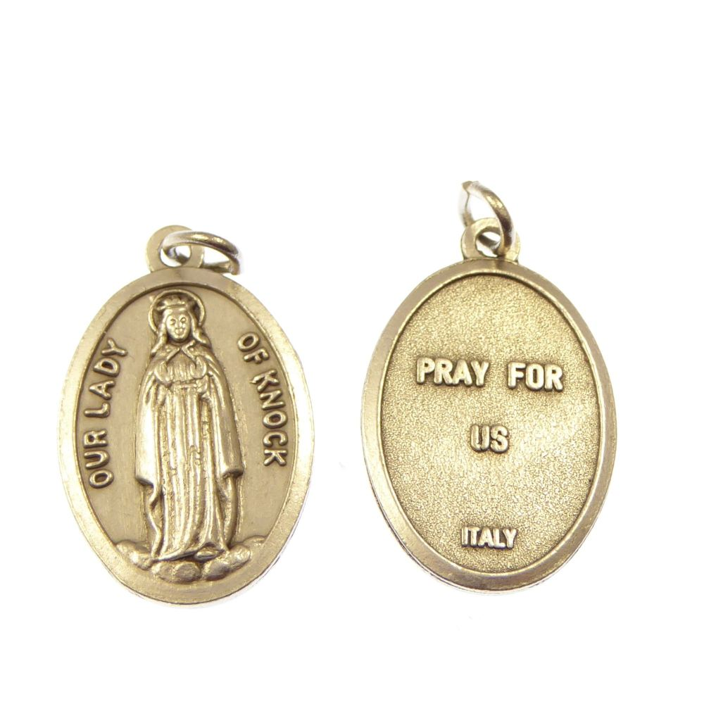 Silver Our Lady of Knock medal