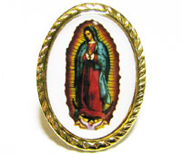Our Lady of Guadalupe pin