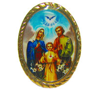 The Sacred Family picture pin