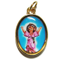 Rosary medal - Divine Child image