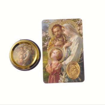 Catholic Holy Family car plaque gift magnet