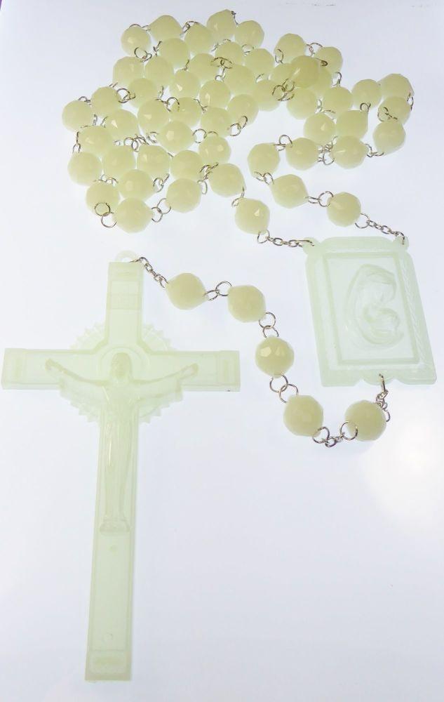 Very large luminous glow in the dark wall rosary beads 1.5m Catholic gift 5