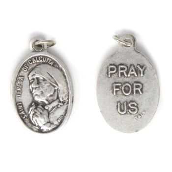 Rosary medal - Mother Teresa - metal