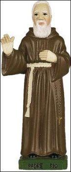 C bc St. Padre Pio statue 15cm figurine ornament