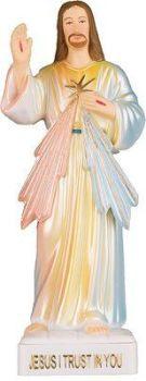 C bc Divine Mercy Jesus statue 15cm figurine ornament
