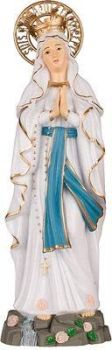 C bc Our Lady of Lourdes statue 15cm figurine ornament