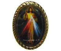 Divine Mercy pin