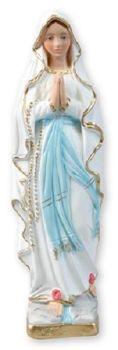 """C bc 8.5"""" (21cm) plaster Our Lady of Lourdes statue ornament"""