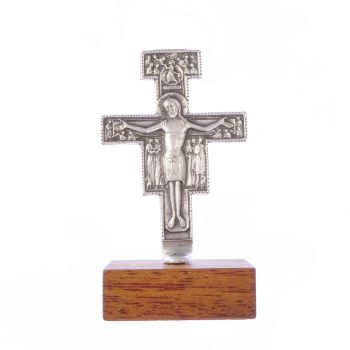 Crucifix cross statue of San Damiano Francis of Assisi
