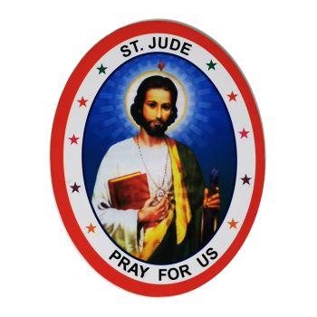 St. Jude Double Sided Window Sticker 9.2cm