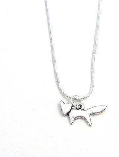 2cm cute fox silver colour 17