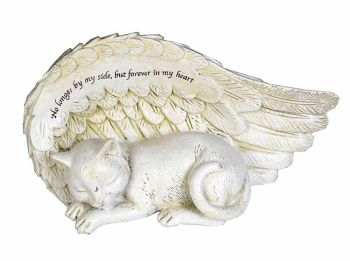 Angel cat ornament 17cm No longer by my side