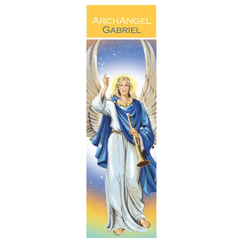 Spiritual Bookmark Archangel Gabriel The Messenger Angel 15cm