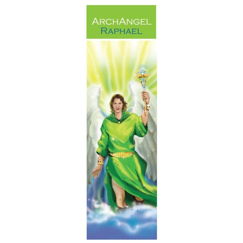 Spiritual Bookmark Archangel Raphael The Angel of Healing 15cm