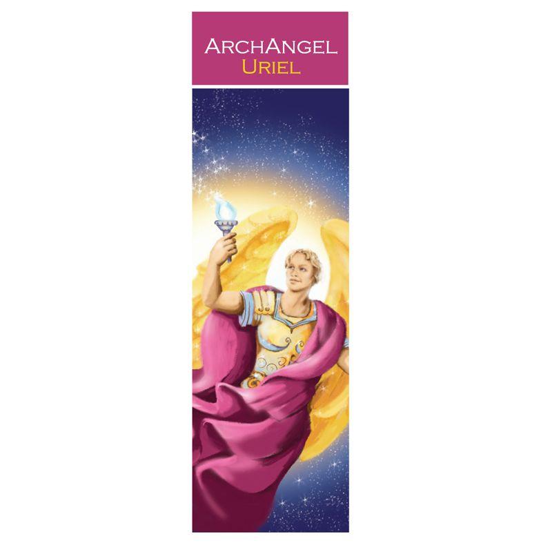 Spiritual Bookmark Archangel Uriel The Angel of Transformation 15cm