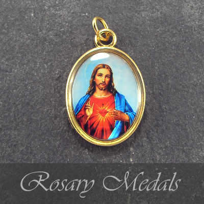 Rosary medals