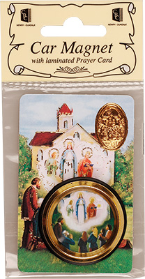 Catholic Our Lady of Knock car plaque gift magnet