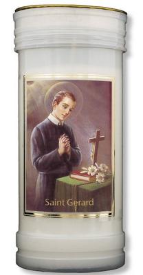St. Gerard candle 72 hour burn Novena Prayer