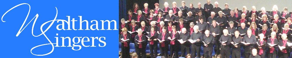 Waltham Singers, site logo.