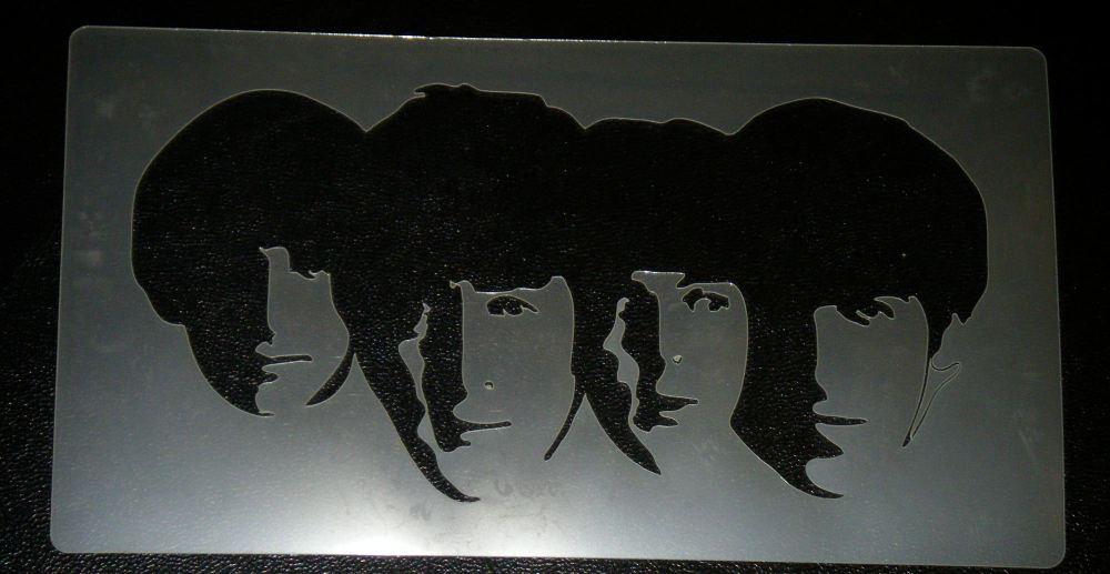 Beatles Stencil