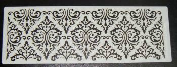 Damask Cake Airbrush craft stencil 1
