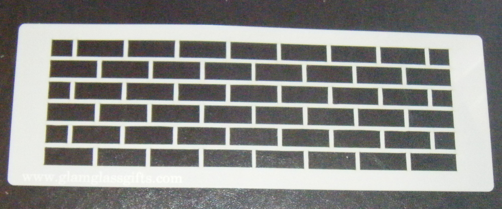 Uniform Bricks Stencil