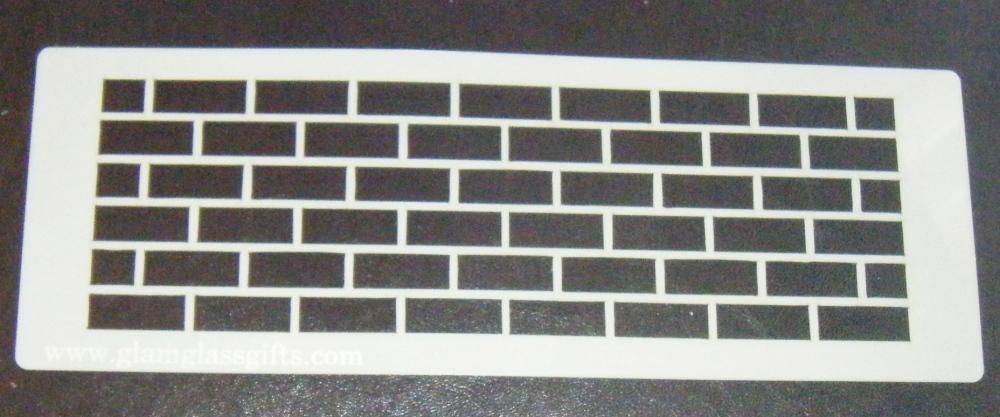 Uniform Bricks Stencil