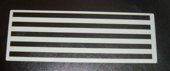 1cm Stripes Pattern Cake decorating stencil Airbrush Mylar Polyester Film