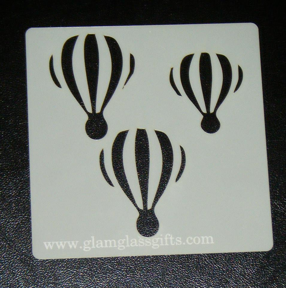 Balloon Cake Decorating Airbrush crafts Stencil