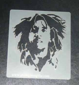 Bob Marley Cake, Craft, Airbrush Stencil