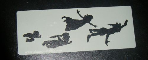 Peter Pan , Wendy Kidds Flying Cake, Craft, Airbrush Stencil