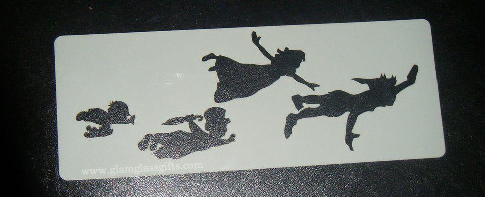 Peter Pan , Wendy Kidds Flying Cake, Craft, Airbrush Stencil