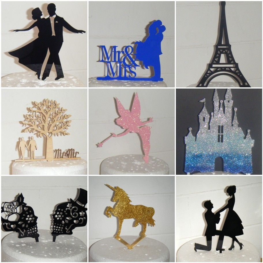 Silhouette Toppers
