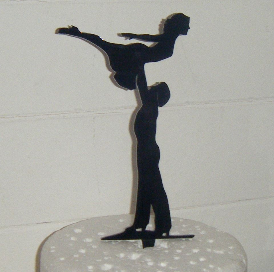 Dirty dancing Silhouette Cake Topper
