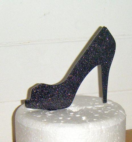 Hi Heel Shoe 2 Silhouette Cake Topper