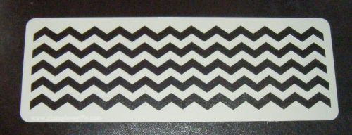 chevron x5 Stripes Cake decorating stencil set Airbrush Mylar Polyester Fil