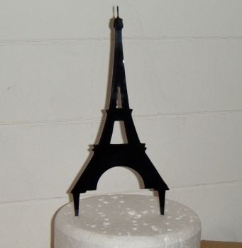 Eiffel Tower Silhouette Cake Topper  1
