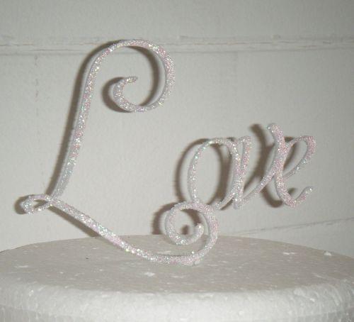 Love Cake Topper 1