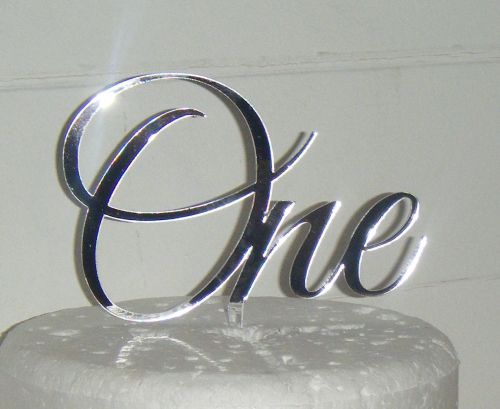 Number One Cake Topper 1