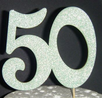 50 Cake Topper 2