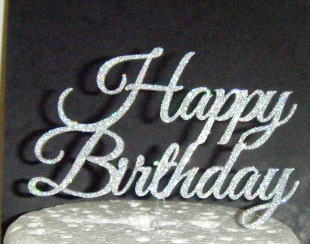 Happy Birthday Cake Topper 4