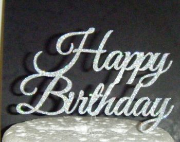 Happy Birthday Cake Topper 4