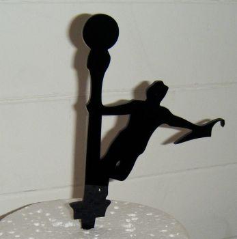 Singing in the rain  Topper Silhouette Cake Topper