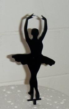 Ballerina Silhouette Cake Topper
