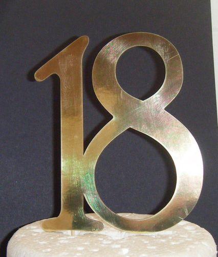 18 Cake Topper 3