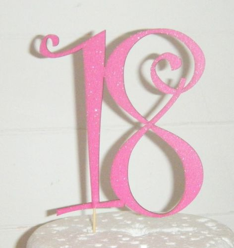 18 Cake Topper 2