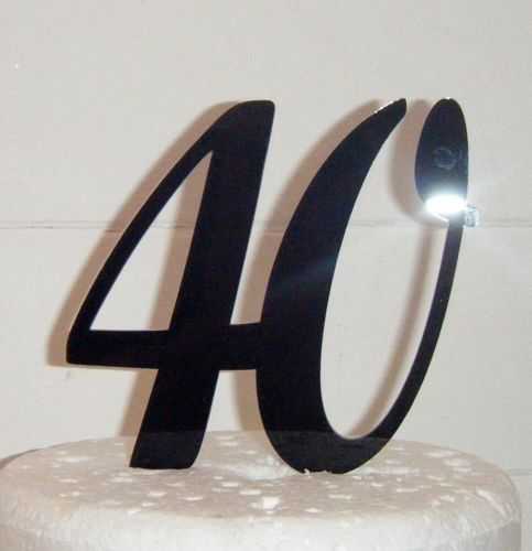40 Cake Topper 4