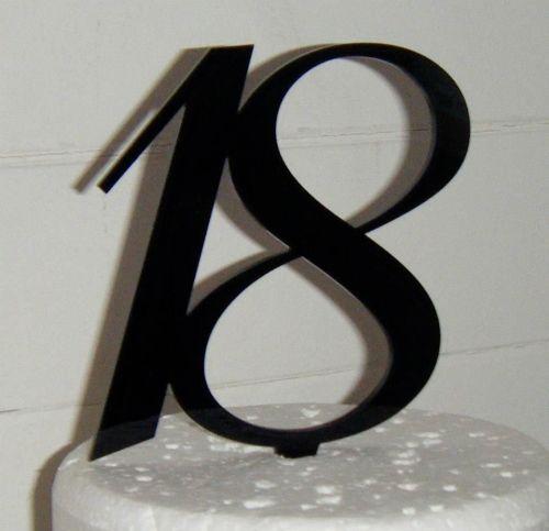 18 Cake Topper 4