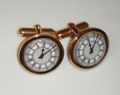 Big Ben Clock Face Cufflinks